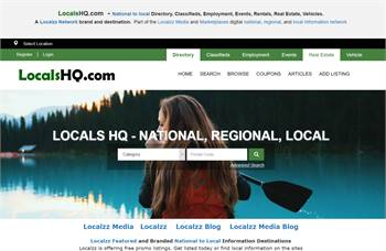 Locals HQ- Directory, Classifieds, Employment, Events, Rentals, Real Estate, Vehicles